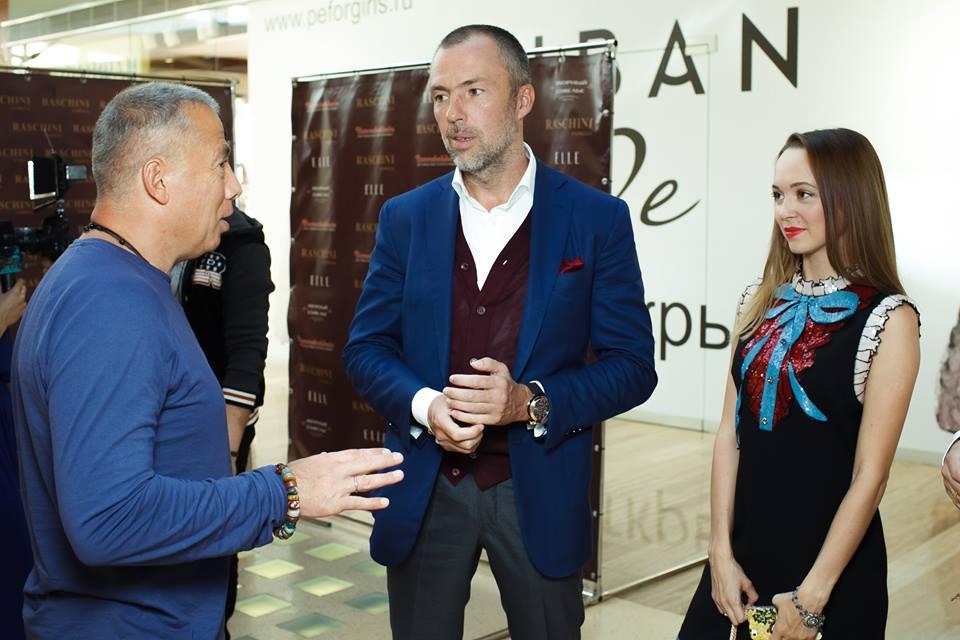Аркадий Новиков, Сергей Викулин и Виктория Толокова