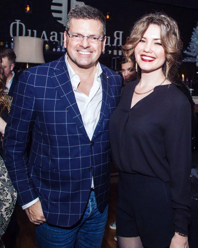 Константин Андрикопулос и Анастасия Медведева