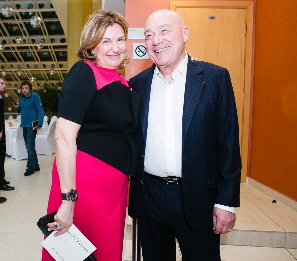 Владимир Позднер с супругой